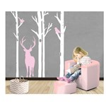 Sticker decorativ perete Forest Trees