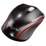 Mouse Wireless laser HAMA Pequento 2, USB, negru/rosu