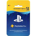 Card abonament PlayStation Plus RO Membership de 365 zile