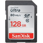 Card memorie SDXC SDSDUNC-128G-GN6IN, SanDisk Ultra,128GB, Class 10, UHS-I, Read: up to 80MB/s