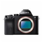 Aparat foto Mirrorless Sony Alpha A7 Body, 24.3 MP, Full-Frame, Wi-Fi, NFC, E-Mount, Negru