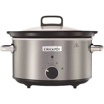Slow cooker Crock-Pot, 3.5l, 210W (Inox)