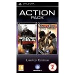 Ubisoft Action Pack: Splinter Cell Essentials + Prince of Persia Rival Swords (PSP)