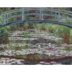 Reproducere tablou Claude Monet - The Japanese Footbridge, 50x40 cm