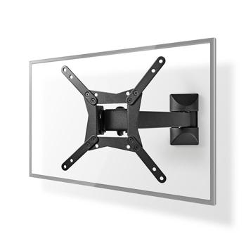 Suport TV de perete reglabil full motion 10-32 / 25-82 cm 30 kg VE-TVWM21BK