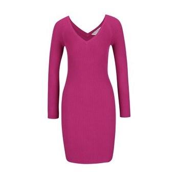 Rochie roz din jerseu subsire Miss Selfridge