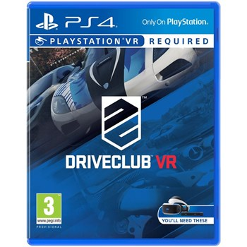 Joc Driveclub VR pentru Sony Playstation 4