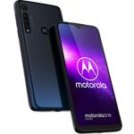 Smartphone Motorola One Macro, Octa Core, 64GB, 4GB RAM, Dual SIM, 4G, 4-Camere, Space Blue