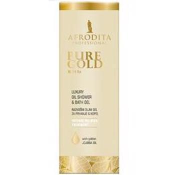 Gel de Dus Uleios Pure Gold 24K Luxury Cosmetica Afrodita, 150 ml