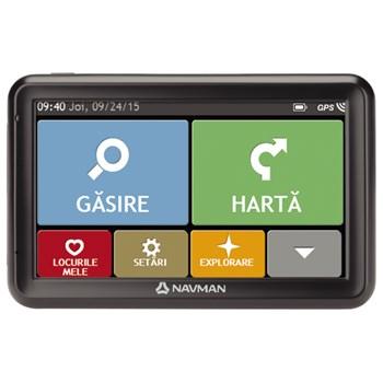 Sistem de navigatie GPS NAVMAN 5000 LM, harti Europa
