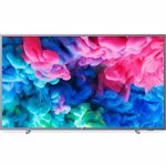 Televizor LED Smart Philips, 126 cm, 50PUS6523/12 , 4K Ultra HD, Argintiu