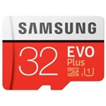 Card de memorie Samsung MB-MC32GA/APC, micro SDHC EVO Plus UHS-I 32GB (Class 10) + Adaptor SD