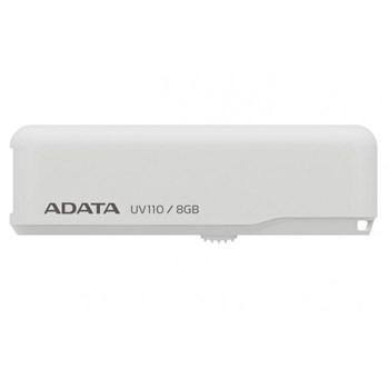 Memorie USB Adata 8GB Dash Drive UV110 USB2.0 alb, retail