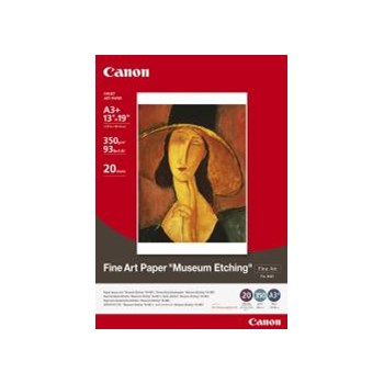 Canon Hartie Foto Fine Art Museum Etching A3+ 20 coli 350gr (CANFAME1A3+)