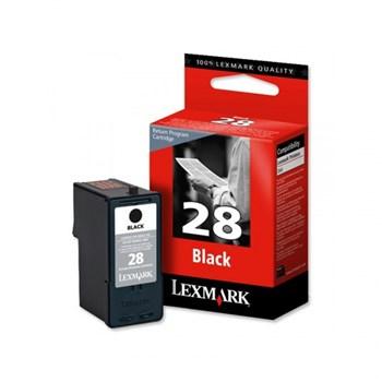 Cartus, black, nr. 28, LEXMARK 18C1428E