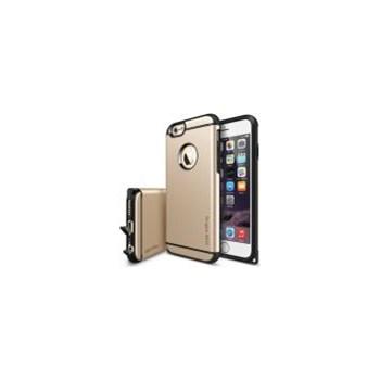 Husa Ringke Eco Armor Max iPhone 6 6s Royal Gold + Folie 159040