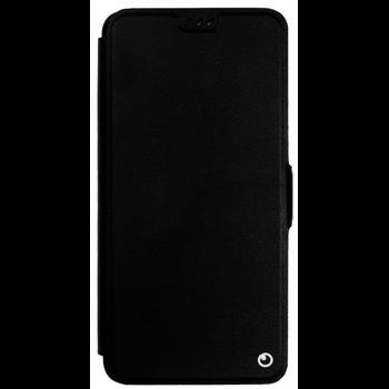 Protectie Book Cover Lemontti Elegant TLEA920N pentru Samsung Galaxy A9 2018 (Negru)