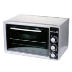 Cuptor Hausberg HB 9025 A, 1400W, 38 L, termostat, patrat, Rosu