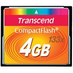 Card de Memorie Transcend Compact Flash 4GB 133X ts4gcf133