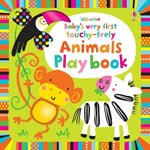 Babys very first touchy-feely Animals Play book - Carte Usborne (0+)