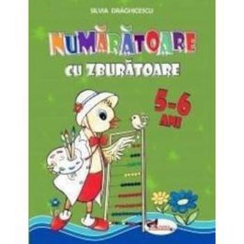 Numaratoare cu zburatoare 5-6 ani - Silvia Draghicescu, editura Aramis