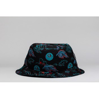 Paradise Print Bucket Hat