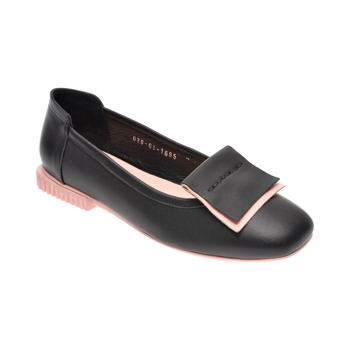 Pantofi FLAVIA PASSINI negri, 028MB01, din piele naturala