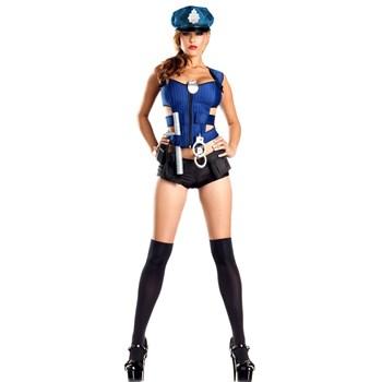 G326 Costum tematic, model politista sexy
