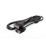 Cablu date monitor dubluecranat 1.8M black SPACER (SPC-VGA-6)