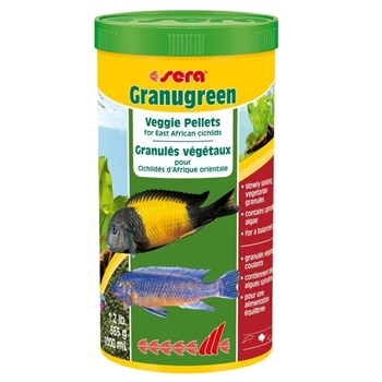 Hrana Granulata pentru Pesti Sera Granugreen 1000 ml