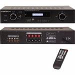 Amplificator 2x180w cu tuner usb/bt/sd mad1400bt-bk
