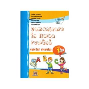 Comunicare in limba romana, clasa I, caietul elevului