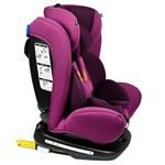 Scaun Auto Tweety Purple cu Isofix rotativ 360 grade Crocodile 0 36 kg baza neagra 906tweety_purple