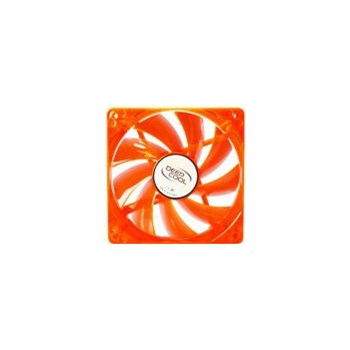 Ventilator DeepCool xfan 120mm LED Orange Green xfan 120u o/g