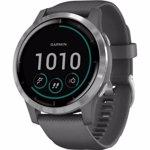 Ceas activity tracker Garmin Vivoactive 4, Bluetooth, Wi-Fi, GPS (Gri)