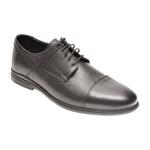 Pantofi OTTER negri, 77704, din piele naturala