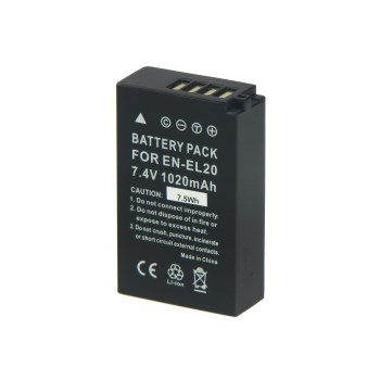 Power3000 PLW804B.623 - acumulator replace tip EN-EL20 pentru Nikon J1