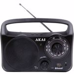 Radio Akai PR-85BT Black