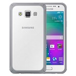 Husa de protectie Samsung Protective Cover pentru Galaxy A7, Light Grey