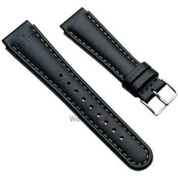 Curea (bratara) Suunto BLACK LEATHER STRAP KIT SS0S4703000
