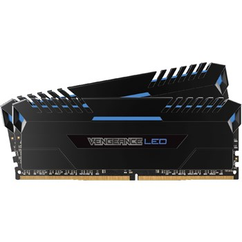 Memorie Corsair Vengeance Blue LED 32GB 2x16GB DDR4 3000MHz CL16 cmu32gx4m2c3000c16b