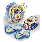 Set accesorii protectie Sponge Bob pentru bicicleta, role, trotineta