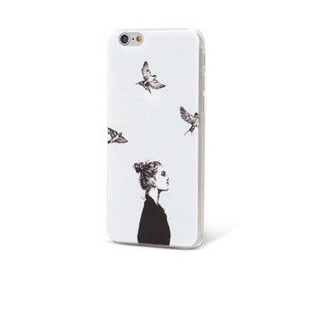 Husa Epico In The Sky, de culoare alba, pentru iPhone 6/6S