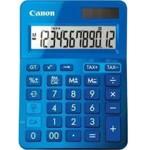 Calculator birou Canon LS123KBL albastru, 12 digiti, ribbon, display LCD, functie business, tax si c
