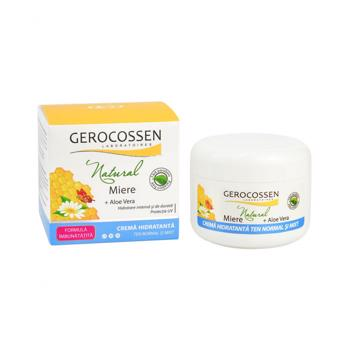 Crema hidratanta ten normal si mixt - Natural Miere 100 ml
