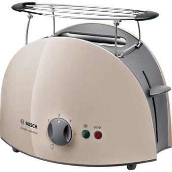 Prajitor de paine Bosch TAT61088, 900 W, 2 felii de paine, Bej