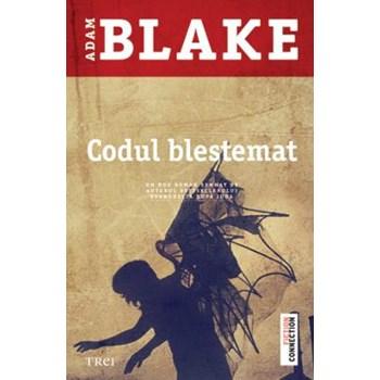 Codul blestemat - Adam Blake, editura Trei