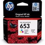 Cartus cerneala HP 653, Tri-color
