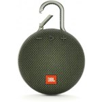 Boxa portabila JBL Clip 3, Bluetooth, Verde