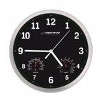 Ceas de perete cu termometru si higrometru Esperanza Lyon ehc016k